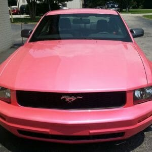 Hot Pink Tangerine Candy Pearl