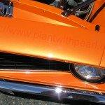Bright Orange Candy Color Pearls