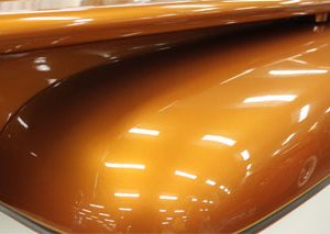 Orange Copper Candy Pearl - Metallic Bronze Pigment