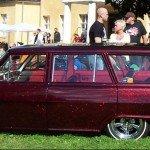 64 Nova Wagon with Fire Red Metal Flake