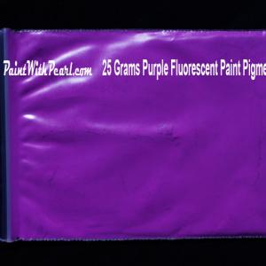 Purple Neon Paint Pigment