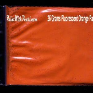 Orange Neon Paint Pigment