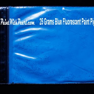 Blue Neon Paint Pigment