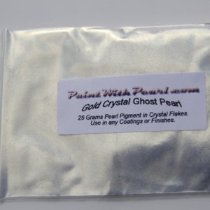 25 gram bag of Gold Crystal Phantom Pearl