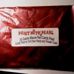 25 Gram Bag Mauve Rose Red Candy Color Pearls ®.