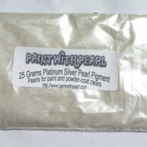 25 gram bag of Platinum Silver Phantom Pearl