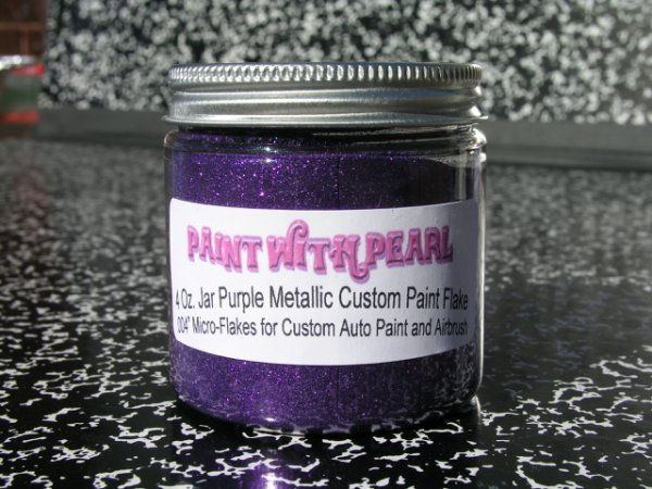 Purple Metal Flake | Pearls and Pigment