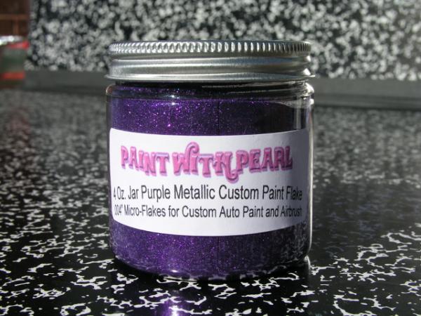 Purple Metal Flake | Pearls and Pigment