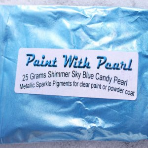 Shimmer Sky Blue Candy Pearl