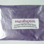 Bag of Violet Candy Color Pearls ®