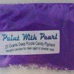 25 gram Bag of Deep Purple Candy Color Pearls