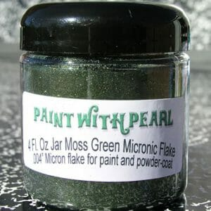 Moss Green Metal Flake