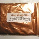 25 Gram Bag Orange Copper Candy Color Pearls