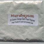 25 gram bag of Orange Satin Phantom Pearl