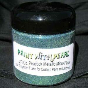 Peacock Metal Flake