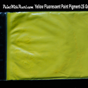 Yellow Neon Paint Pigment