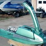 Lime Green Candy Pearl Jet Ski