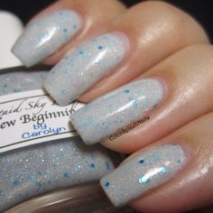 Custom made nail polish using our candy pigments and metal Flake