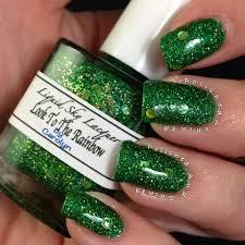 custom mixed nail polish using our pigments and metal Flake