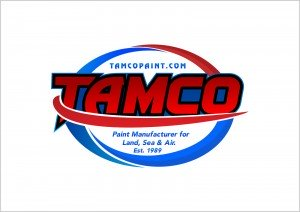 Tamco Quality Paints Logo. One of the quality wet paints shipped free by Pearls and Pigment.