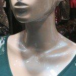 Blue Phantom Pearl on a Mannequin Head