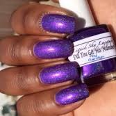 custom made finger nail polish with our candy pigments and metallic Flake