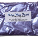 25 Gram Bag Vinca Blue Candy Pearl also known as Blurple.