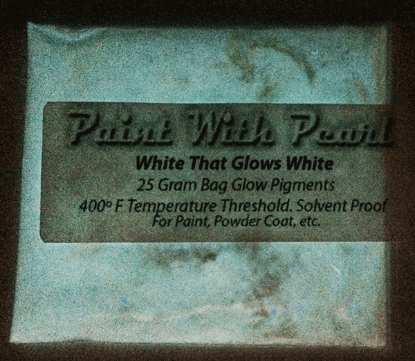 This white glows white at night like a bulb. No one has seen anything like this. It glows bright and lasts most of the night.